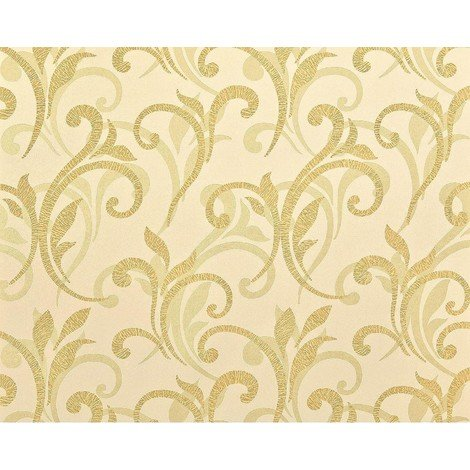 Flower paste the wall wallpaper XXL EDEM 928-22 textured non-woven abstract floral pattern gold off-white beige 10.65 m2