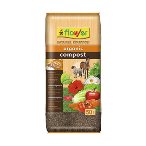 FLOWER Substrato Compost Orgánico 50 L