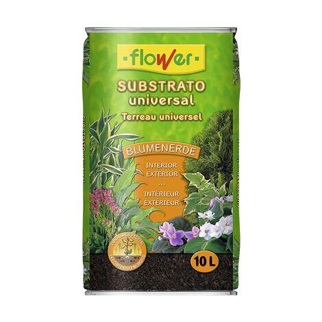 FLOWER Substrato Universal Blumenerde, 10 Litros