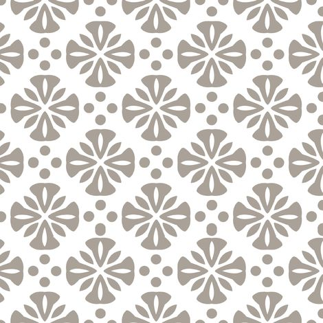 Flower Taupe