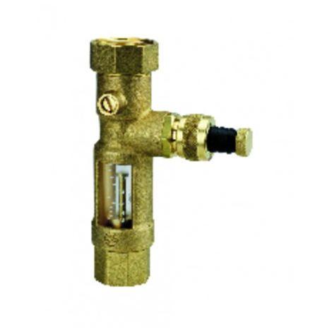 Flowmeter and filling tap