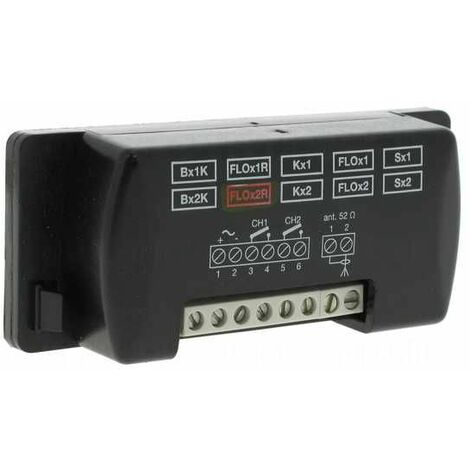 FLOX2R Récepteur d'autoapprentissage RADIO universel Nice 2 canaux avec mémoire BM250