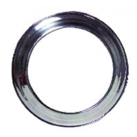 Flue shaft - Aluminium escutcheon diameter 125mm - ISOTIP JONCOUX : 019112