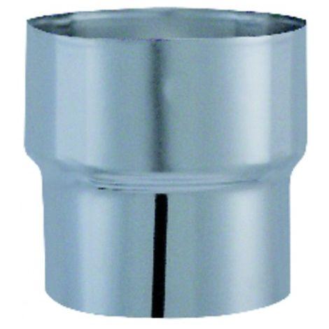Flue shaft - Reduction diameter 153mm x 125mm - ISOTIP JONCOUX : 034325