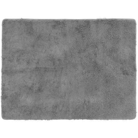Fluffy Rug Anti-Skid Shaggy Area Rug Floor Mat grey B-160X230cm