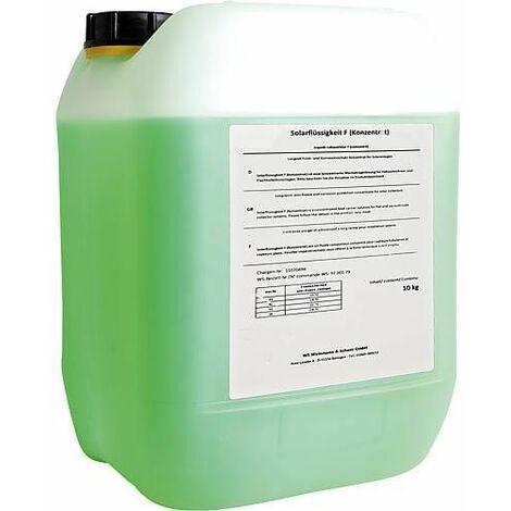 Fluide caloporteur maintenance solaire protection contre la corrosion bidon vert 10 L à diluer