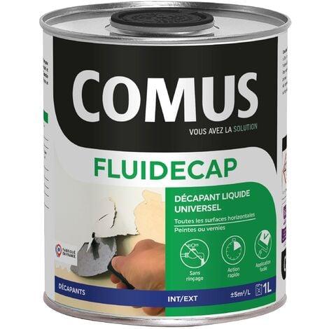 FLUIDECAP 1L - Décapant liquide, pour lasures, vernis et peintures - COMUS - incolore