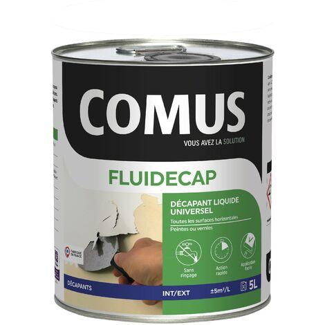 FLUIDECAP 5L - Décapant liquide, pour lasures, vernis et peintures - COMUS