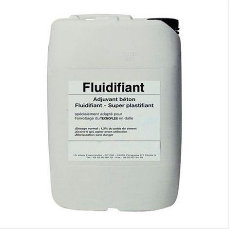 Fluidifiant béton pour plamcher chauffant Bidon de 23 kilo Pour 100m²