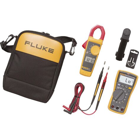 Fluke 117/323 Hand-Multimeter, Stromzange digital CAT III 600V Anzeige (Counts): 6000 S34788