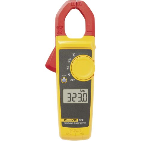 Fluke 323 Stromzange, Hand-Multimeter digital CAT III 600 V, CAT IV 300V Anzeige (Counts): 4000 Q79087