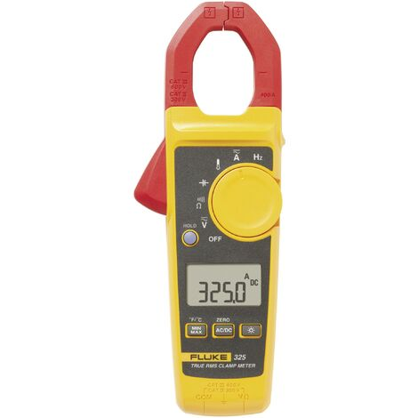 Fluke 325 Stromzange, Hand-Multimeter digital CAT III 600 V, CAT IV 300V Anzeige (Counts): 4000 Q79085