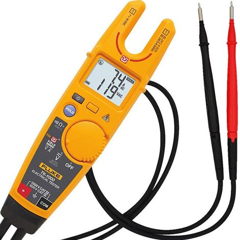 fluke 4910257 | fluke t6-1000 - testeur électrique portable, fluke t6-1000, 200a ac, 1000v ac, 600 v