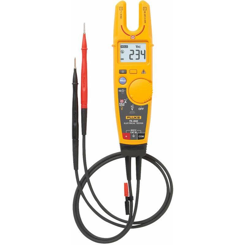 Image of T6-600/EU 600V AC/DC Electrical Tester - Fluke