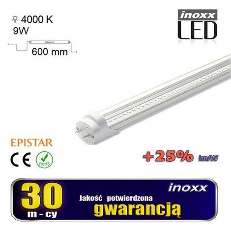 Fluorescente 60 9w centimetri LED T8 G13 4000K trasparente de neutrófilos