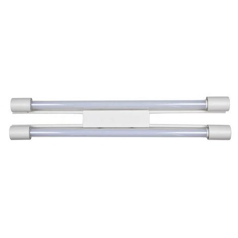 Fluorescente Silice Led Blanco 2x8w T/incl 1500lm 6500k 63x12x5
