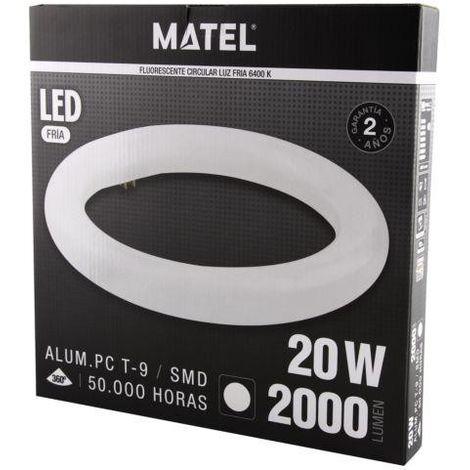 FLUORES.LED T9 CIRCULAR 30CM. 20W. FRIA Matel.