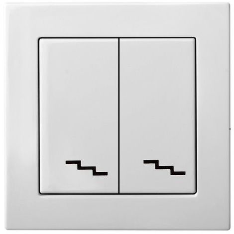 Flush Mounting Bidirectional Switch 2 Taken Frameless
