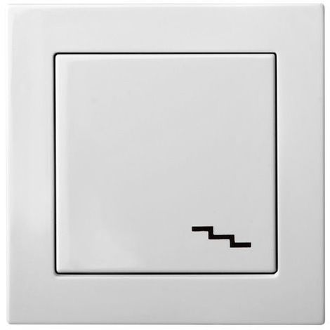 Flush Mounting Bidirectional Switch With A Group With Led Lamp, Frameless