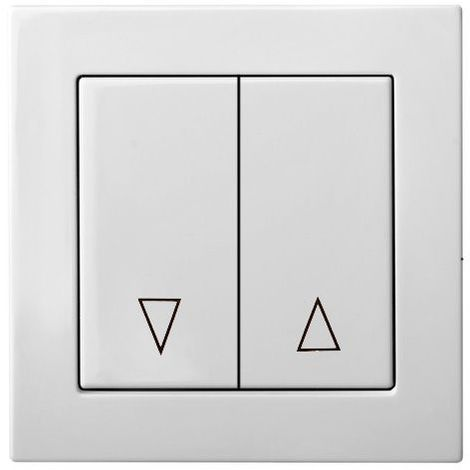 Flush Mounting Pushbutton Control Blind Frameless