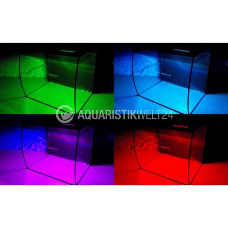 Fluval Flex 34l Nano Aquarium weiß Komplettaquarium +Filteranlage +RGB Licht