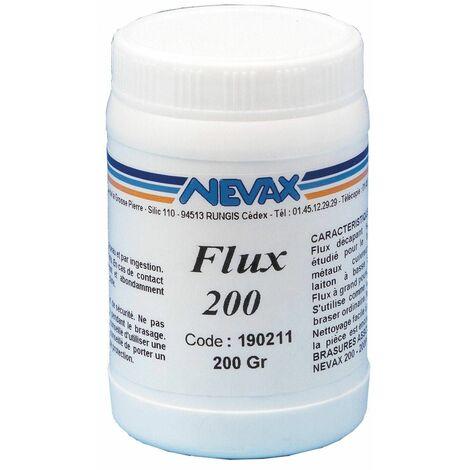 Flux 200 en poudre : Décapant de 200g