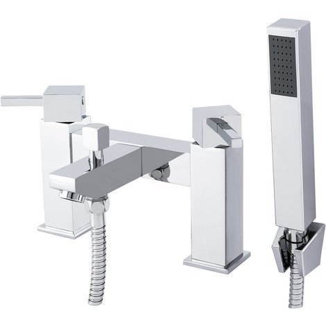 Flux Bath Shower Mixer Tap & Kit