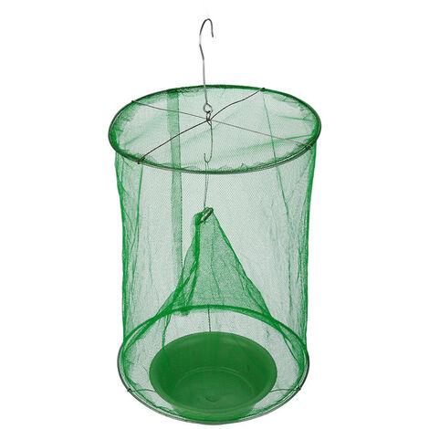 Fly Trap Avec Appat Plateau Cage Fly Fly Catcher Reutilisable Pour Restaurants Interieur Exterieur Cour Arriere Garden Park
