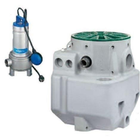 FLYGT Station relevage eaux usées et sanitaires MICRO6 FX DXVM50-11 réf.5864620