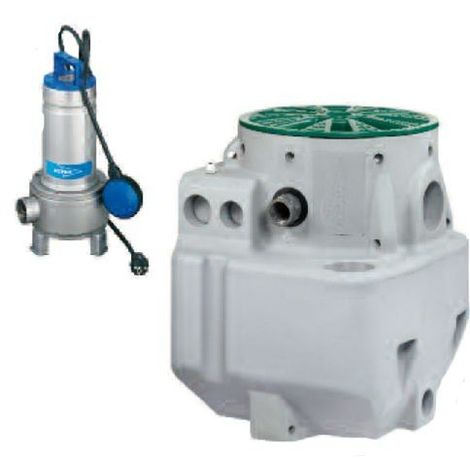FLYGT Station relevage eaux usées et sanitaires MICRO6 FX DXVM50-7