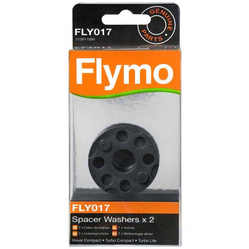 Disco A Cuscino D Aria.Flymo Fly017 Lotto Di 2 Dischi Per Tosaerba A Cuscino D Aria