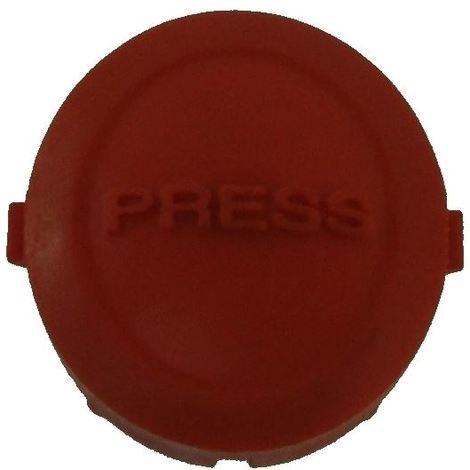 Flymo HC300 (9633030-01) Button Lock-Off Orange
