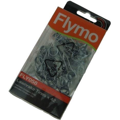 Flymo Lawnrake Compact 3400 LRC 3400 (9668312-02) FLY058 Lawnrake Tines
