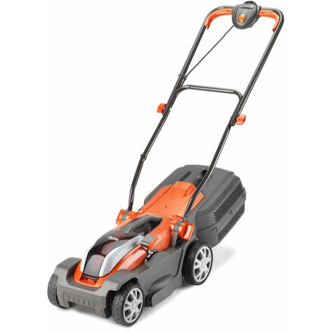 Flymo Mighti-Mo 300Li Cordless 40v 30cm Rotary Lawn Mower 30cm/12in