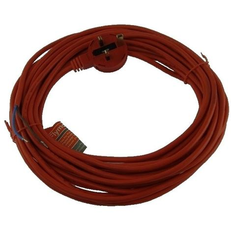 Flymo Rollermo RM032 (9643224-01) 12M Extension Cable And Moulded Plug Genuine