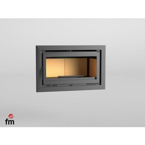 FM Insert de cheminée IT-100 14,5kW à chaleur ventilée