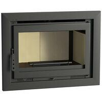 FM Insert de cheminée IT-180 13,5kW avec porte en fonte