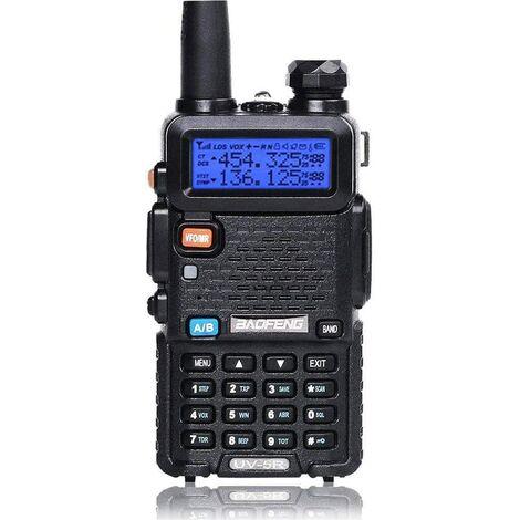 "main image of ""FM UV5 FM radio walkie talkie with dual band radio, (1 piece)"""