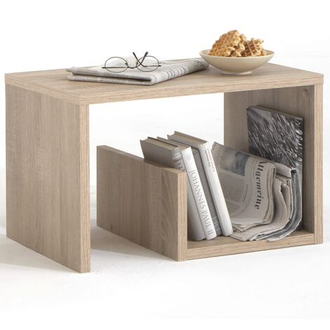 FMD Coffee Table 2-in-1 59x36x38 cm Oak