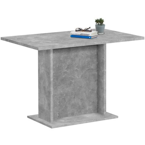 FMD Dining Table 110cm Concrete Grey