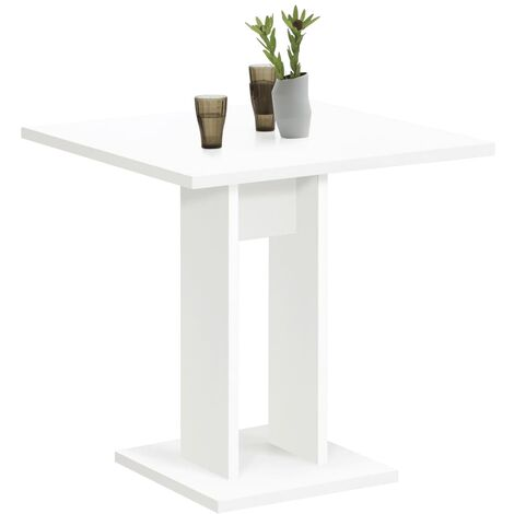 FMD Dining Table 70cm White