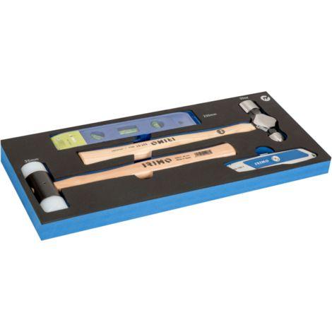 FOAM Herramientas de golpeo y corte, 4 piezas IFF1E018 IRIMO