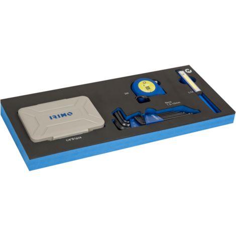 FOAM Juego puntas y herramientas mediciónm 72 piezas IFF1E019 IRIMO