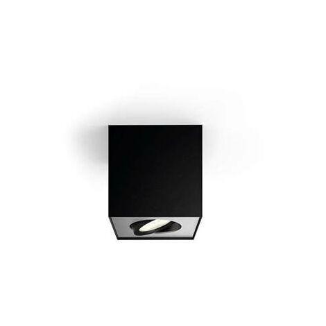 """Foco """"Box"""" 1 X 4,5 W negro"""