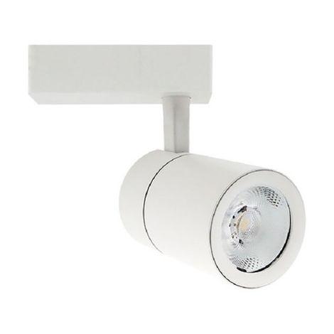 Foco carril led orientable luz neutra Blanco 15W