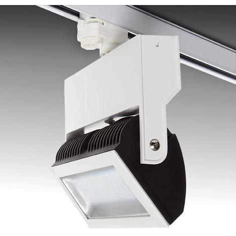 Foco Carril LED Trifásico 25W 2610Lm 50.000H Margaret | Blanco Cálido (SN-TR-C03-CW)