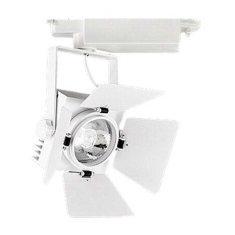 Foco carril Monofásico CINEMA CREE LED, blanco, 35W