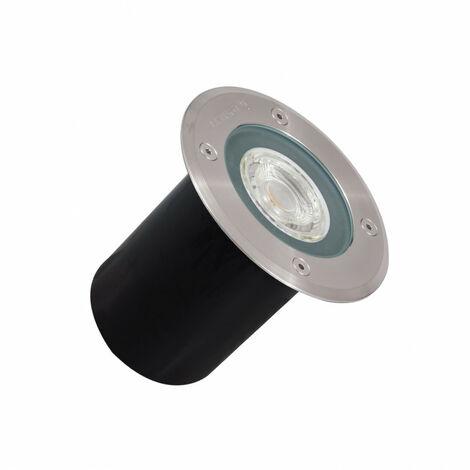 Foco Circular Empotrable en Suelo Gea GU5.3 15º IP67 LEDS-C4 55-9635-CA-37 Aluminio