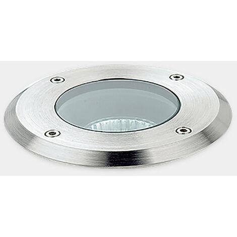 Foco Circular Empotrable en Suelo Sumergible Aqua GU5.3 IP68 LEDS-C4 55-9245-CA-37 Pulido - Pulido