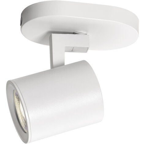 Foco de aluminio serie Tonik blanco GU10 (Jueric 10293)